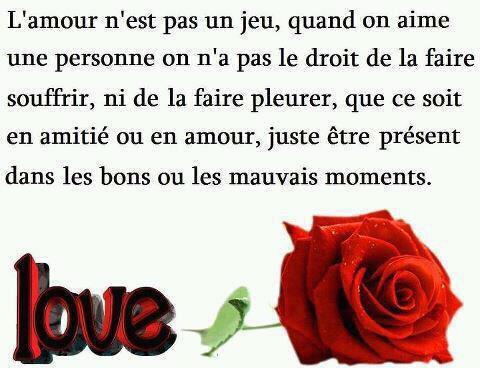 L'amour n'est pas un jeu
