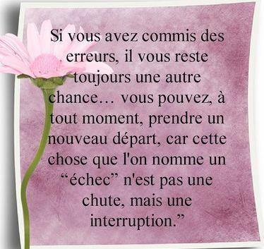 Une interruption