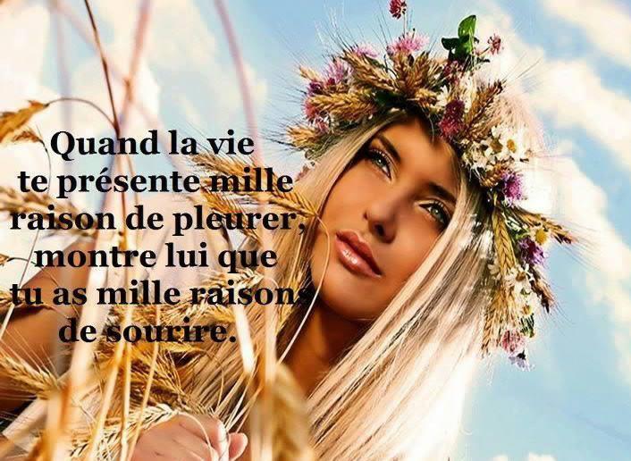 Mille raisons de sourire