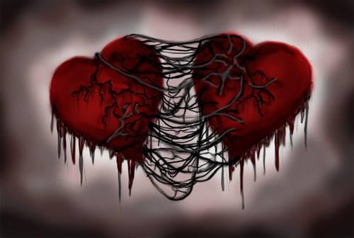 Mon coeur est attaché au tien à tout jamais.
