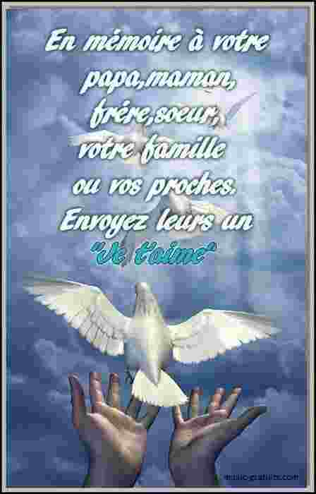 Pour votre famille et vos proches