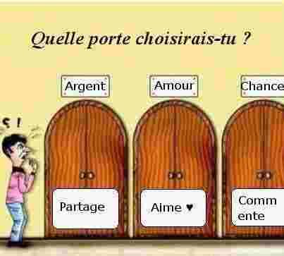 Quelle porte choisis-tu?